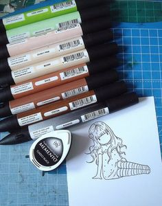 joeys stuff: How I use my Promarkers- Loadsa Pictures!