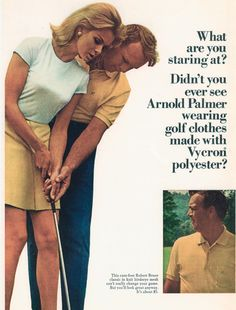 Is it just us, or has The King always been cool?  Slideshow: Arnold Palmer the Pitchman #golf #lorisgolfshoppe