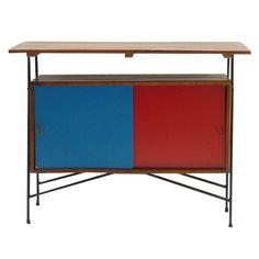 Arthur Umanoff, Cabinet for Raymor, Mid Century Modern Furniture, Midcentury Modern, Shop Cabinets, Antique Cabinets, Sideboard Cabinet, Furniture Inspiration, Wood Furniture, Number 8, Buffet