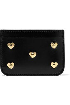 Sophie Hulme   Rosebery embellished leather cardholder   NET-A-PORTER.COM
