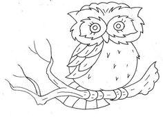 owl embroidery | http://best-vintage-lifestyles.blogspot.com