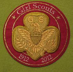 Girl Scout 100th Anniversary Tenderfoot patch. GSUSA. Thank you, Talli.