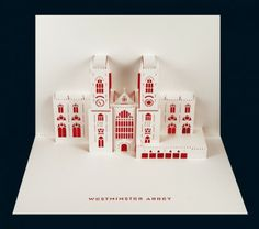 Westminster Abbey Pop-up Card