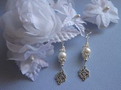 BRIDESMAIDS EARRINGS Set of 4 Pairs of by TheButterflyGarden7, $80.00