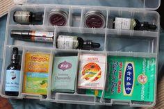 Make an Herbal Travel First Aid Kit