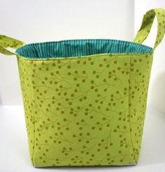 Текстильная корзинка. Мастер-класс