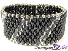 Bransoletka Beaded Elegance - Hematite | Tarragon Art - stylowa biżuteria artystyczna