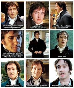 Some of the best Mr. Darcy quotes from Pride and Prejudice.