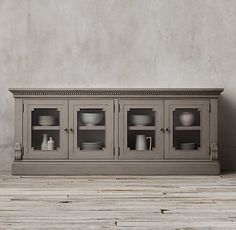 St. James Glass Sideboard