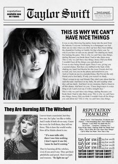 Reputation  Are you ready for it?