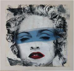 Hierbei handelt es sich um einen handsignierten und per Hand veredelten Pop Art Siebdruck des bekannten Urban Art Künstlers Mr. Brainwash.    Abmessungen: 55cm x 57cm  Material: Siebdruck auf Papier