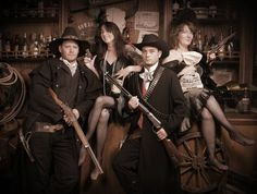 Get an old western picture taken.  Check.