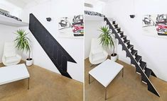Artificial Plants, Montage, House Plants, Tiny House, Stairs, Loft, Change, Diy, House Ideas