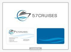 logo for travel agency specialized in cruises by oixio Custom Logo Design, Custom Logos, Professional Logo Design, Travel Agency, Cruises, Cruise