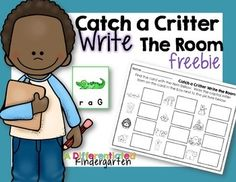 I hope you enjoy this Write the Room Freebie.  It is a very simple way for you to differentiate by readiness and get your kinesthetic learners moving.  It is also a perfect introduction to write the room activities for the beginning of the kindergarten year.