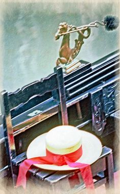 Gondola And A Hat Metal Print by Gavin List. All metal prints are professionally printed, packaged, and shipped within 3 - 4 business days and delivered ready-to-hang on your wall. Aluminium Sheet, Any Images, Got Print, High Gloss, Your Image, Wooden Frames, Fine Art America, Metal, Hats