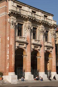 Loggia del Capitaniato, Venice Palladio