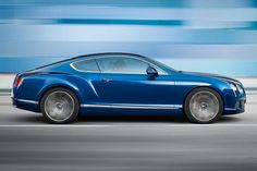 6. (Tied) Bentley Continental GT Speed    Top Speed: 205 mph   Engine: 616 HP 6.0L W 12 (Twin Turbocharged)  MSRP: $234,000