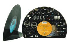 Ohrring Ohrstecker Display Schmuckständer Ohrringständer Schallplatten Vinyl LP