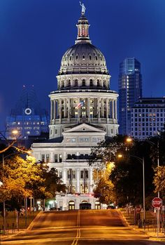 Capitol Of Texas Photograph