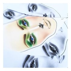 Life is better in #colour  #MyFace by #mykitco #facechart brightening up our day! #makeupartist #makeuplover #makeupartistry  #artofthechart #face #blueeyes #greeneyes #eyes #mkcfacechart #makeupmeetsart #myartistcommunity_uk #myartistcommunity #chartart #makeupjunkie #facechartaddict #facechartlover