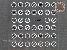 Adhesive Nail Art Sticker (no water need).Product Details:Style: Black, and WhiteSticker Size: 2 * 2 Size: 3 * 2 1 pcHow to Apply a base coat on the nails and wait for it to dry. Nail Art Stickers, Adhesive, Black And White, Signs, Nails, Products, Image, Black White, Finger Nails