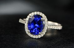 Unique Tanzanite Engagement Rings