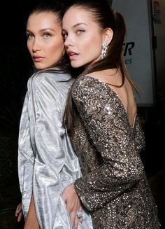 Bella Hadid and Barbara Palvin