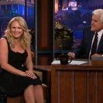 Miranda Lambert Addresses Tabloid Rumors on Jay Leno [VIDEO]