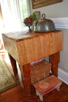 Want this butcher block!