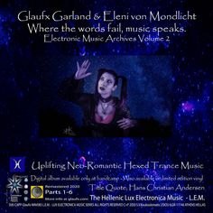 Where The Words Fail Music Speaks - EMAEVol 2 | Glaufx Garland - Dark Runner - Viridian Green Trance Music, Personalized Labels, More Than Words, Electronic Music, Harley Quinn, Fails, Garland, Romantic, Trance
