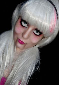 Those dolls scare the crap out of me but I think it would be a neat idea for Halloween.