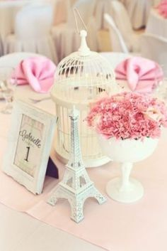Quinceanera Party Planning – 5 Secrets For Having The Best Mexican Birthday Party Paris Bridal Shower, Paris Baby Shower, Bridal Showers, Paris Birthday Parties, Birthday Party Themes, Paris Themed Birthday Party, Deco Table, A Table, Paris Sweet 16