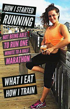 First Half Marathon Training Running Plan, How To Start Running, Running Workouts, Running Tips, Running Training, Running Schedule, Food For Running, Starting To Run, Ninja Training