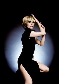 The New Avengers photoshoot Joanna Lumley as Purdey
