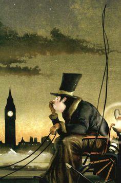 Roger Olmos | ILLUSTRATION | Sherlock Holmes