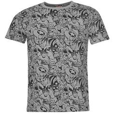 Mens Grey Marvel Avengers Superheroes Collage Print T Shirt £14.99 #marvel #avengers #superhero #marvelshirt