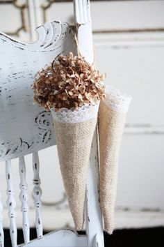 10 DIY- Burlap and Lace Projects