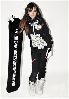 For their very first collab on their women s snowboard collection 5fd128770