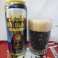 Asahi DRY BLACK ビアホール仕立ての黒