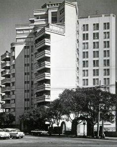 Basurto Building by Francisco Serrano Condesa Mexico City 1945