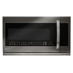 LG Electronics 2.2 cu. ft. Over the Range Microwave in Stainless Steel with Sensor Cook-LMHM2237ST - The Home Depot