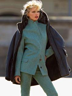 Hana Jirickova by Hans Feurer for Vogue Russia September 2014