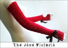 Fingerless Gloves Knitting Pattern Luthien by TheJaneVictoria, $5.00