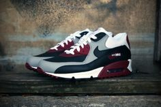 premium selection 98c63 69b86 White, maroon  black Suho, Air Max 90, Cheap Nike, Nike Outfits