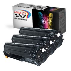 Highest premium toner quality Compatible Black Toner Cartridge for HP CE278A (HP 78A) that is guaranteed to perform with your HP laser printer.  This combination provides you with 3 HP CE278A compatible black toner cartridges.  Working within all the HP laser models as seen in the list below, and providing you with 2,100 pages based on 5% page coverage. http://www.absolutetoner.com/collections/deals/products/3-hp-ce278a-compatible-black-toner-cartridge-combo-hp-78a