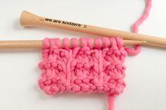Comment tricoter le point whelk                                                                                                                                                                                 Plus