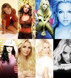 Los cambios de Britney Spears... ¿Cuál es tu favotiro? o el que menos te gusta