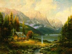 Thomas Kinkade - Painter of Light..Thank you