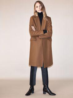 Johanna P. Denim & camel coat, aw 2016